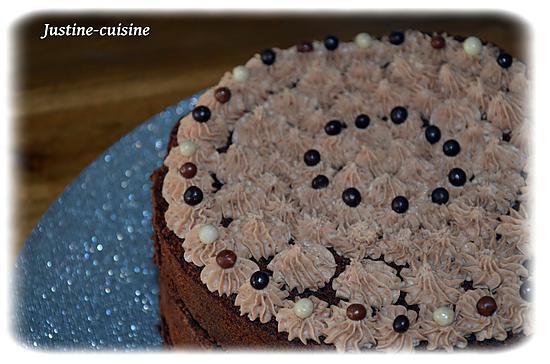 recette ○•LAYER CAKE AU CHOCOLAT•○