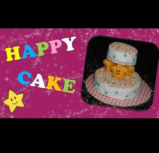recette Happy Cake - Le Gâteau du bonheur