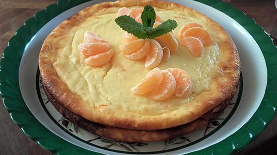 recette fiadone clémentine citron