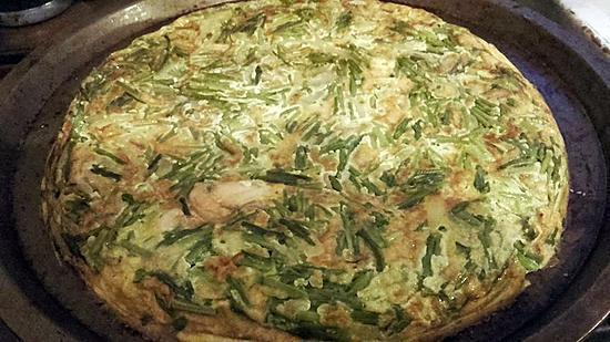 recette tortillas asperge sauvage