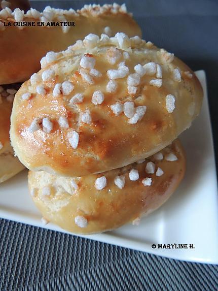 Recette de pains au lait par marylineh - Pain au lait recette ...