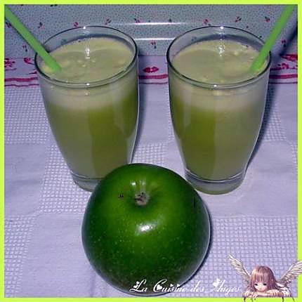 recette Petit Coktail de Pommes Vertes et de Fenouil