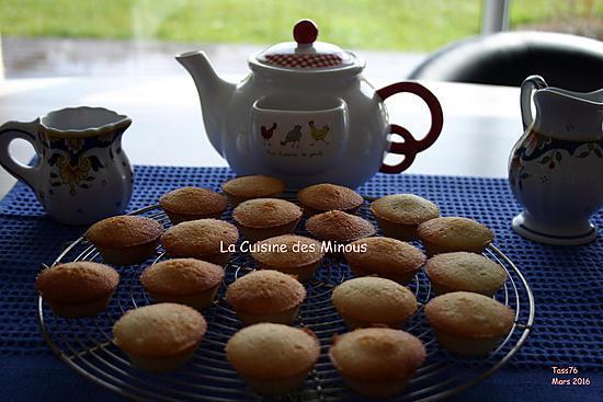 recette Mini ,Muffin au blanc d'œuf et grand Marnier