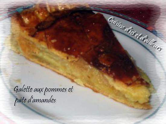 Recette De Galette Aux Pommes Et Pate D Amandes