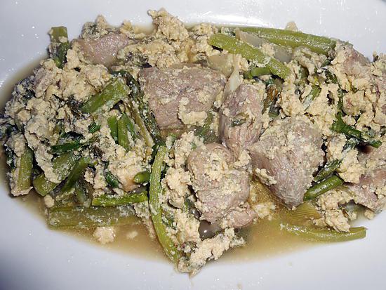 recette SOUPE D'AGNEAU DE PAQUES A LA PUGLIESE (brodetto d'agneau)