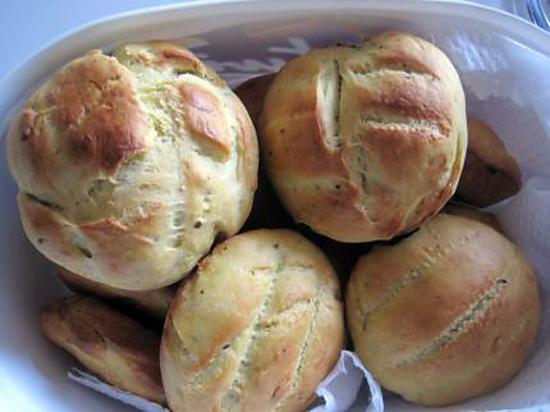 Recette de petits pains rapides - Recette pain levure chimique ...