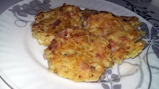recette Croquettes de coquillettes jambon fromage