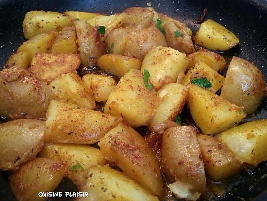 Recette de pommes de terre rissol es aux pices par - Pomme de terre rissolees maison ...