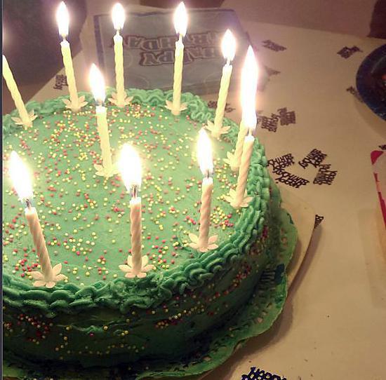 recette Gâteau d'anniversaire à la vanille