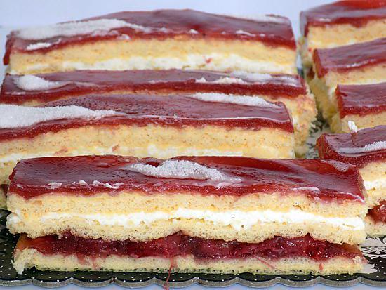 recette Opéra à la fraise dukan (conso)