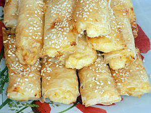 recette Feuilletés poulet fromage