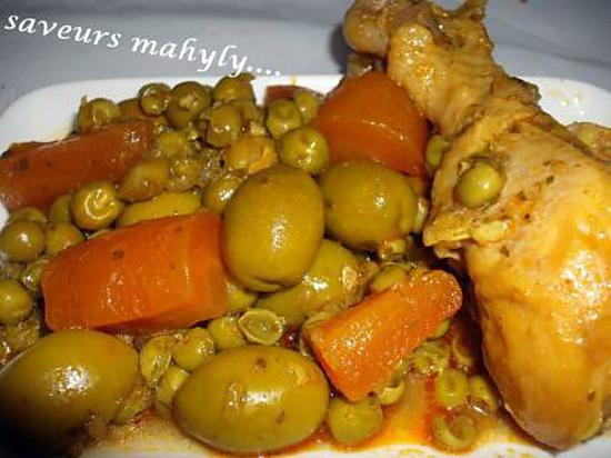 recette tagine de p'tit pois olive
