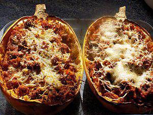recette Courge spaghetti bolognaise