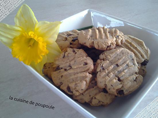 recette Cookies au spéculoos
