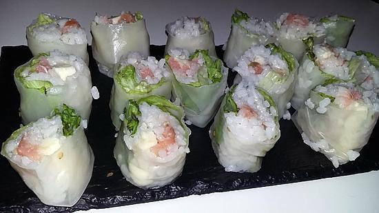 recette Sushis de printemps