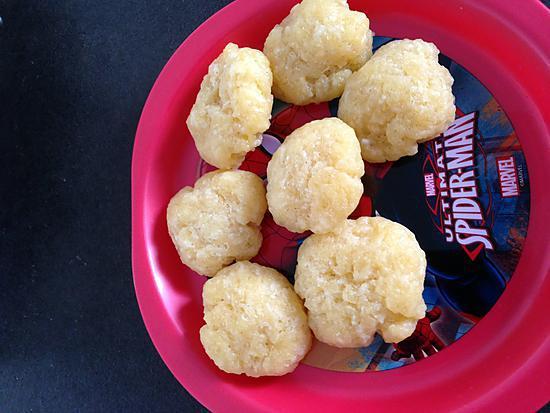 recette Cookies au gruyère inspiré par la popotte coup de coeur de maman