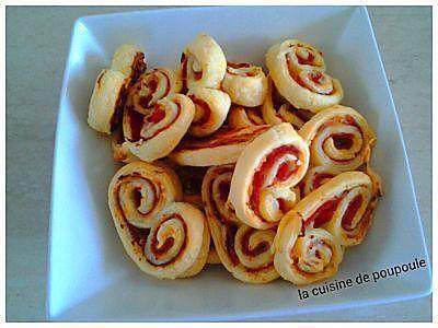 recette Palmietr au jambon et St Moret