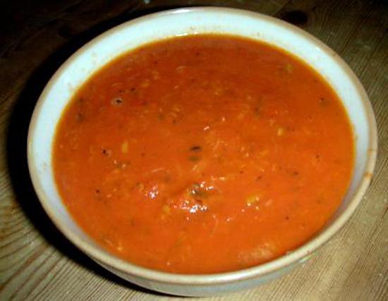 recette Soupe express à l'italienne