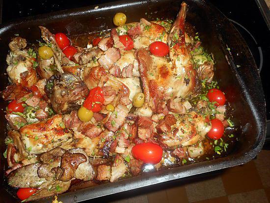recette Lapin aux saveurs de provence
