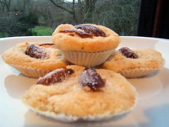 recette Muffins aux dattes et huile d'Argan