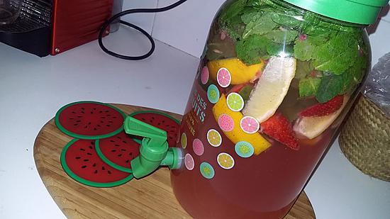 recette Cocktail virgin mojito fraise