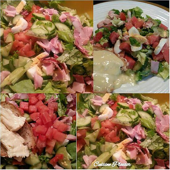 recette avec salade
