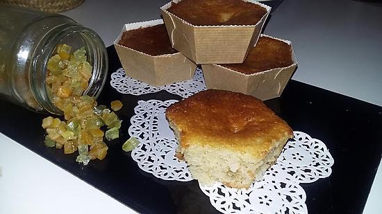 recette Gâteau au yaourt au fruits confits