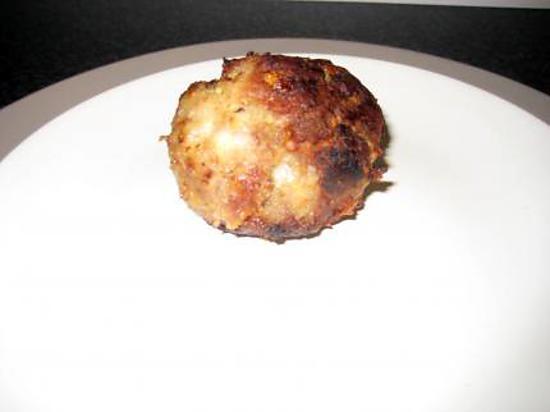 Recette de boulette de viande et fromage - Portion de viande par personne ...