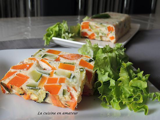 recette Terrine de courgettes et carottes
