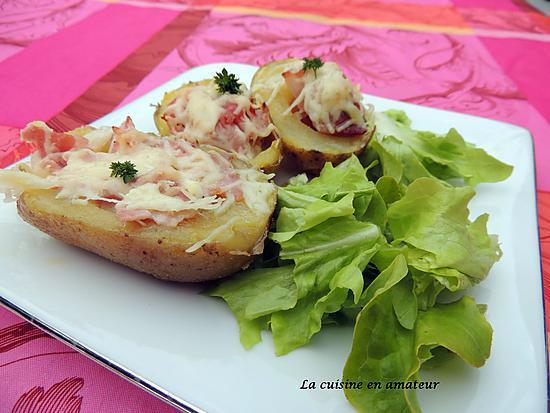 recette Pommes de terre au lard fumé