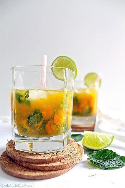 recette de cocktail mojito la mangue. Black Bedroom Furniture Sets. Home Design Ideas