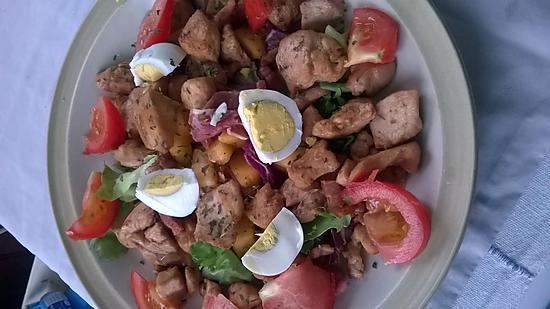 recette Assiette salade mixte