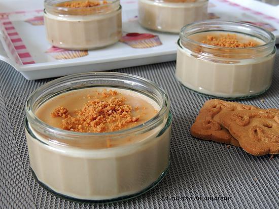 recette Crème aux spéculoos