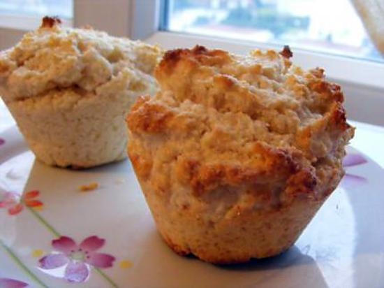 recette THE muffin à la noix de coco