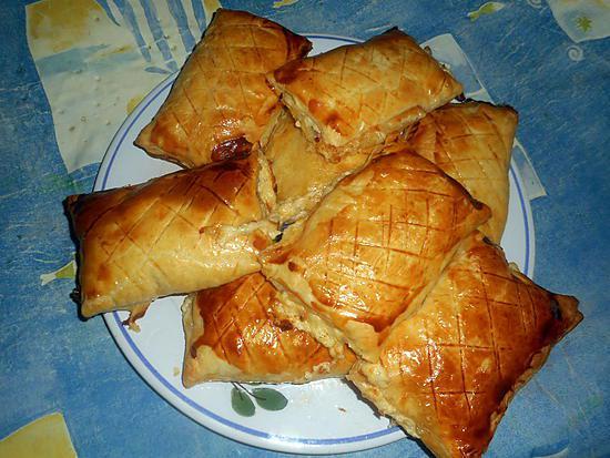 recette Friands au jambon et comté