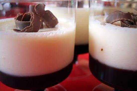 recette Verrine 3 chocolats