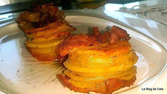 recette Pommes de terre au parmesan