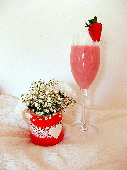recette Smoothie fraise banane