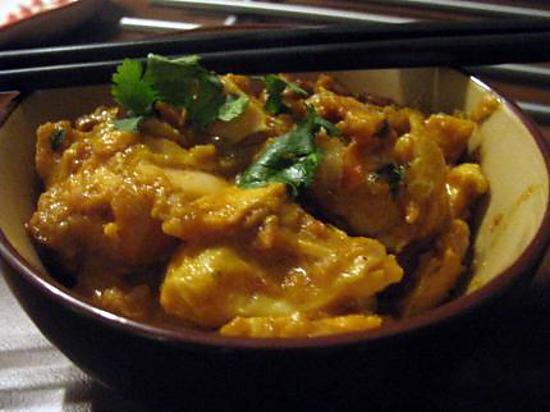 recette Curry de saumon épicé