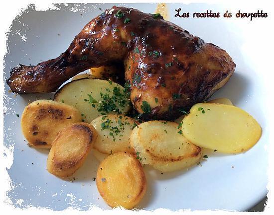 recette Cuisse de poulet au coca zéro