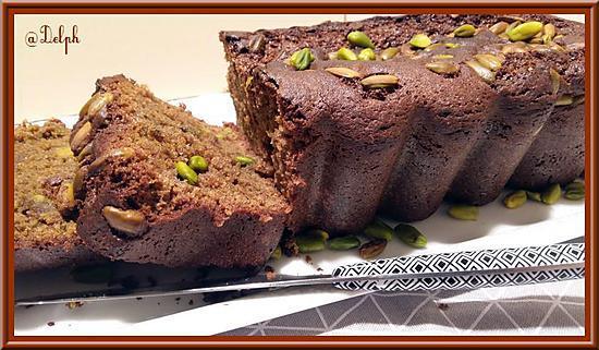 recette Cake chocolat-pistache
