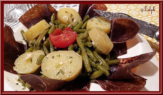 recette de salade de haricots verts la viande de grison. Black Bedroom Furniture Sets. Home Design Ideas