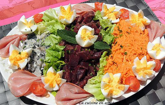 recette Salade de crudités