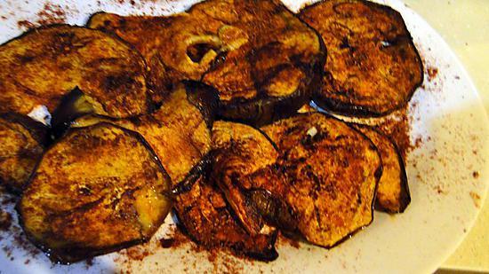 Recette d 39 aubergines grill es la marocaine - Recette aubergine grillee ...