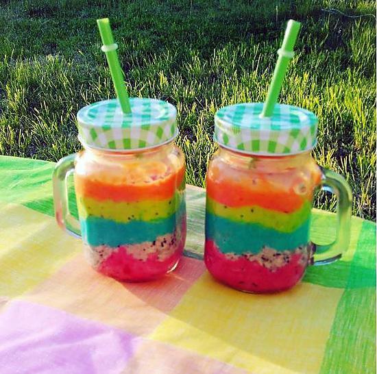 recette Smoothie Rainbow