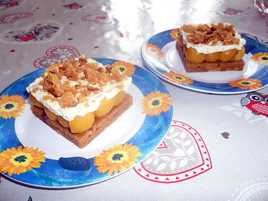 foodies recettes spéculoos mascarpone