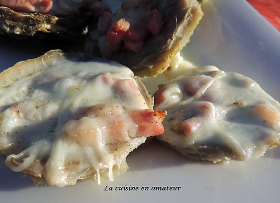 recette Coeur d'artichaut à la mozzarella et lardons