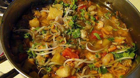 Recette de soupe du p cheur la vietnamienne - Zen la cuisine vietnamienne ...