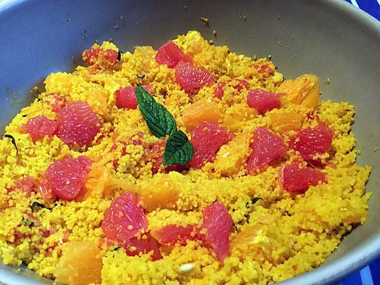 recette Taboulé aux agrumes