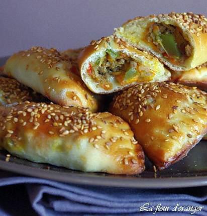 recette Chaussons salés sans pâte feuilletée